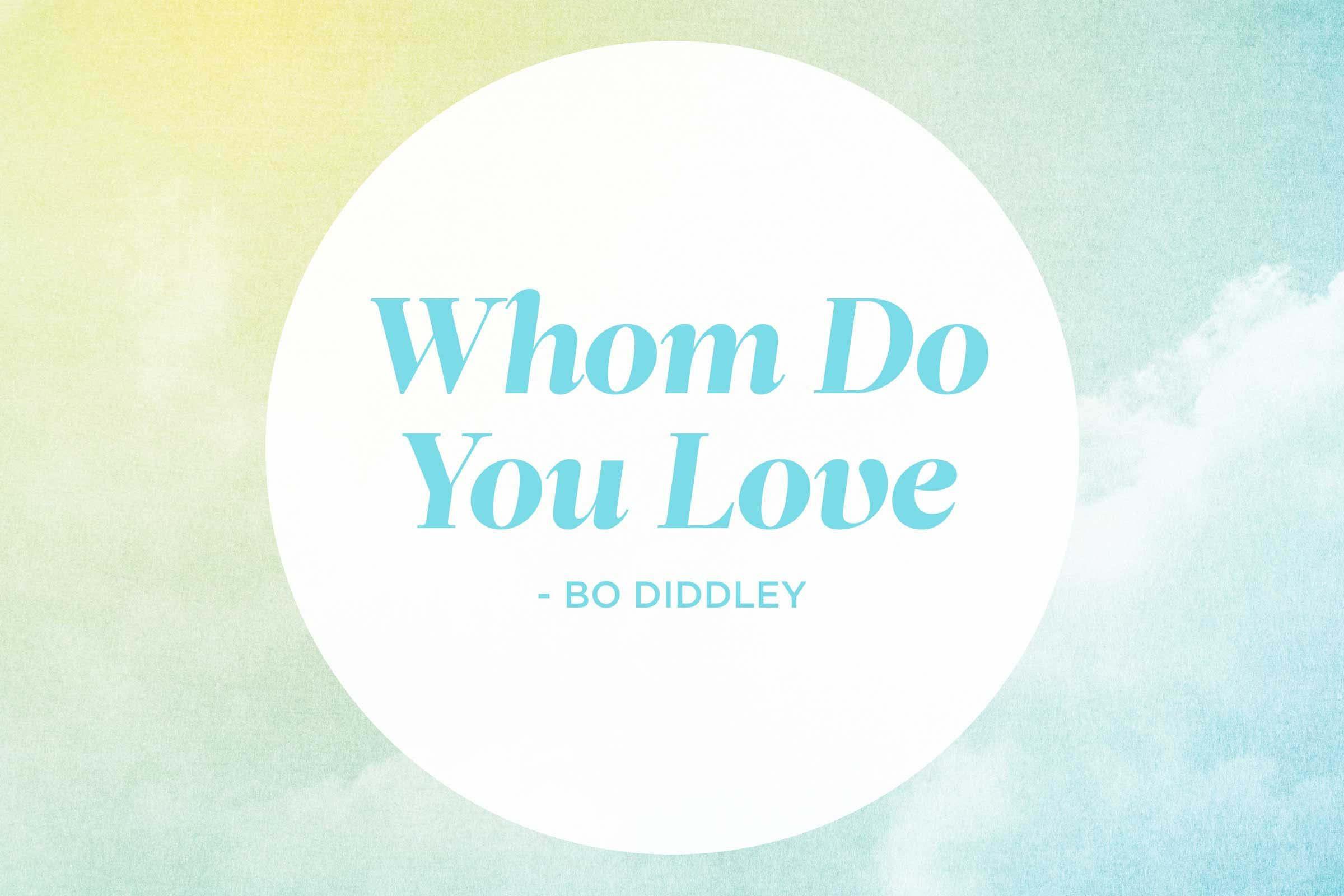 10 pop songs ruined by proper grammar readers digest who do you love by bo diddley biocorpaavc Gallery