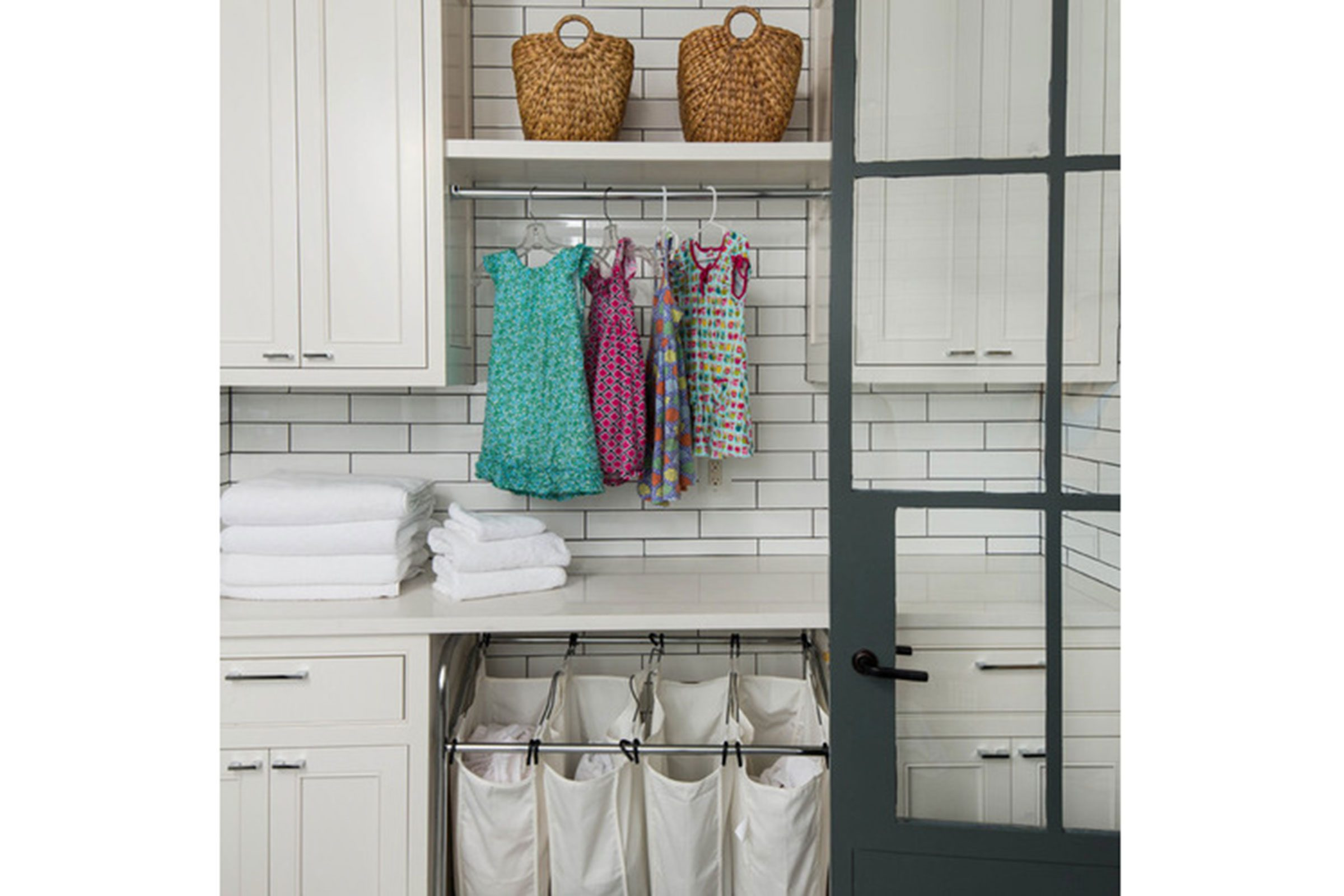 10 Tips To Simplify Laundry Day Readers Digest Ways Add Lighting A Closet Without Wiring Apartment Therapy