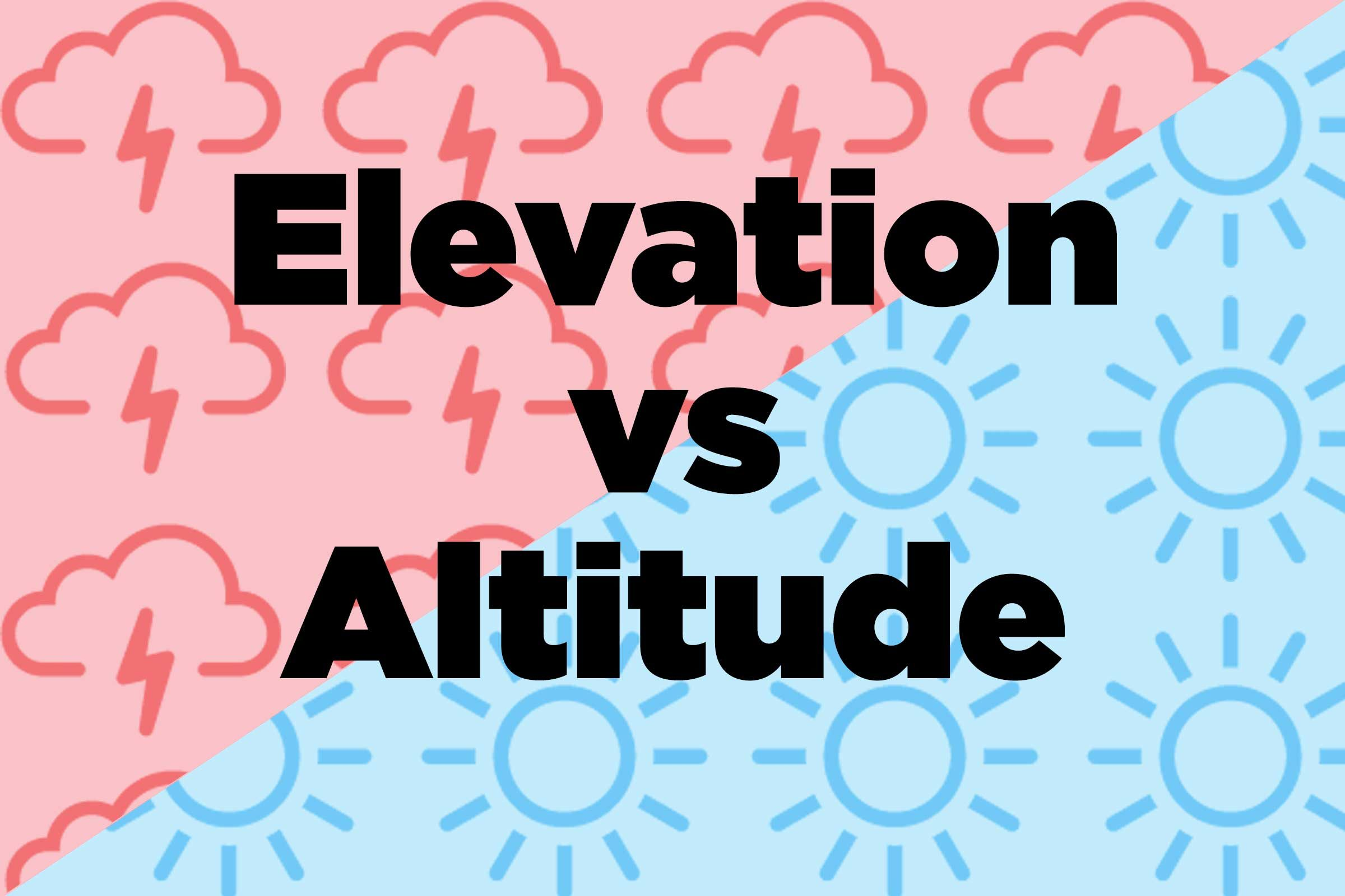 Difference Between Weather And Climate Nature Words Defined - What's our current elevation