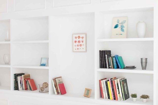 03 organize bookshelves replace big stuff