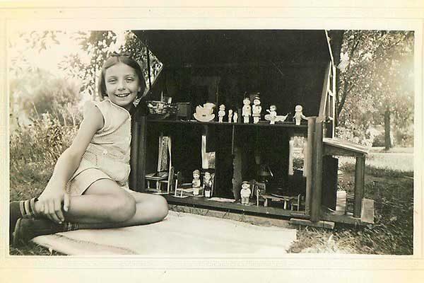 Reminisce story handmade dollhouse