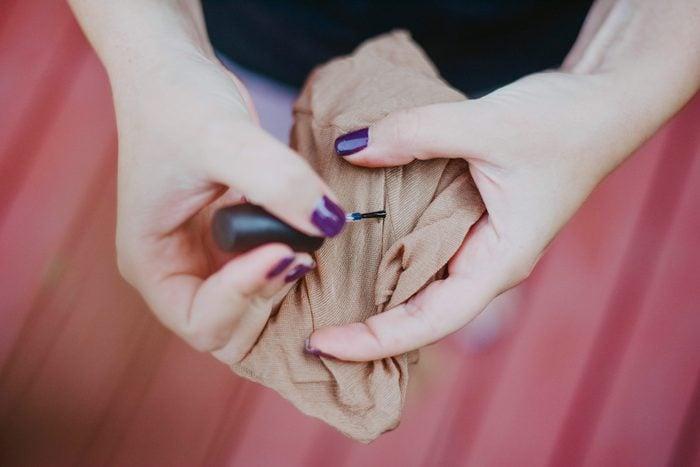 run in tights nail polish fixes