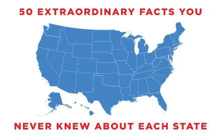 50 Astonishing Facts You Never Knew About the 50 States