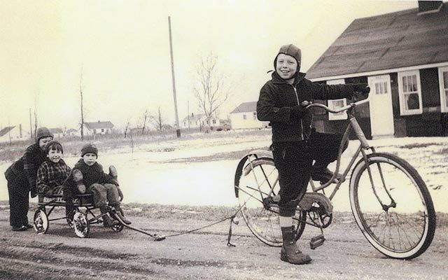 How a Secondhand Girls' Bike Was the Best Present Two Brothers Could Ask For