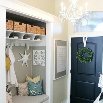 Here's How to Transform a Tiny Entryway Into a Spacious Storage Area