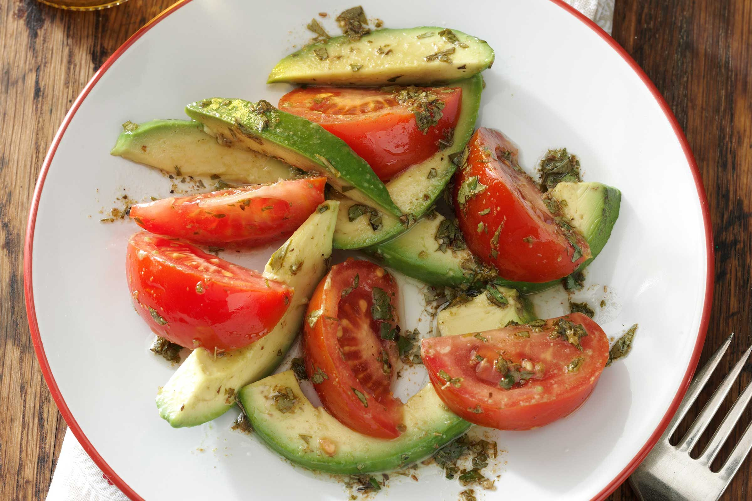 Tomato-and-Avocado-Salad