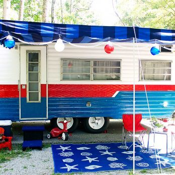 Prepare to Be Amazed By the Gorgeous Way This Woman Transformed Her Simple Camper Trailer