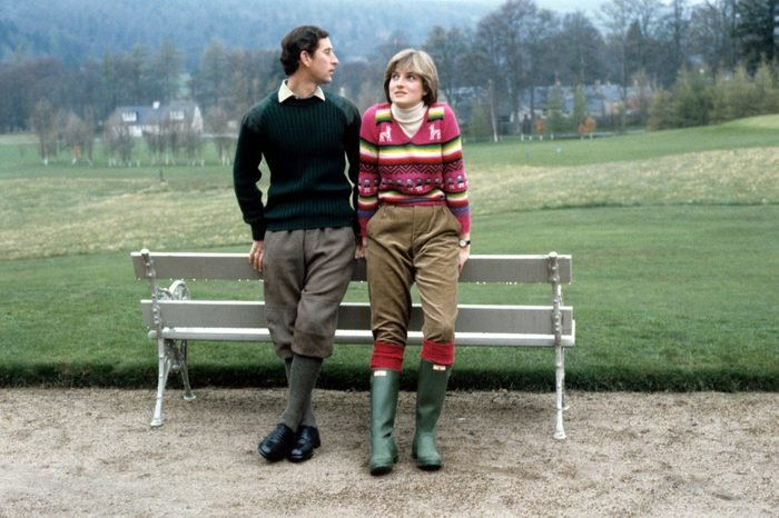 Prince Charles and Lady Diana Spencer, Scotland, Britain - May 1981