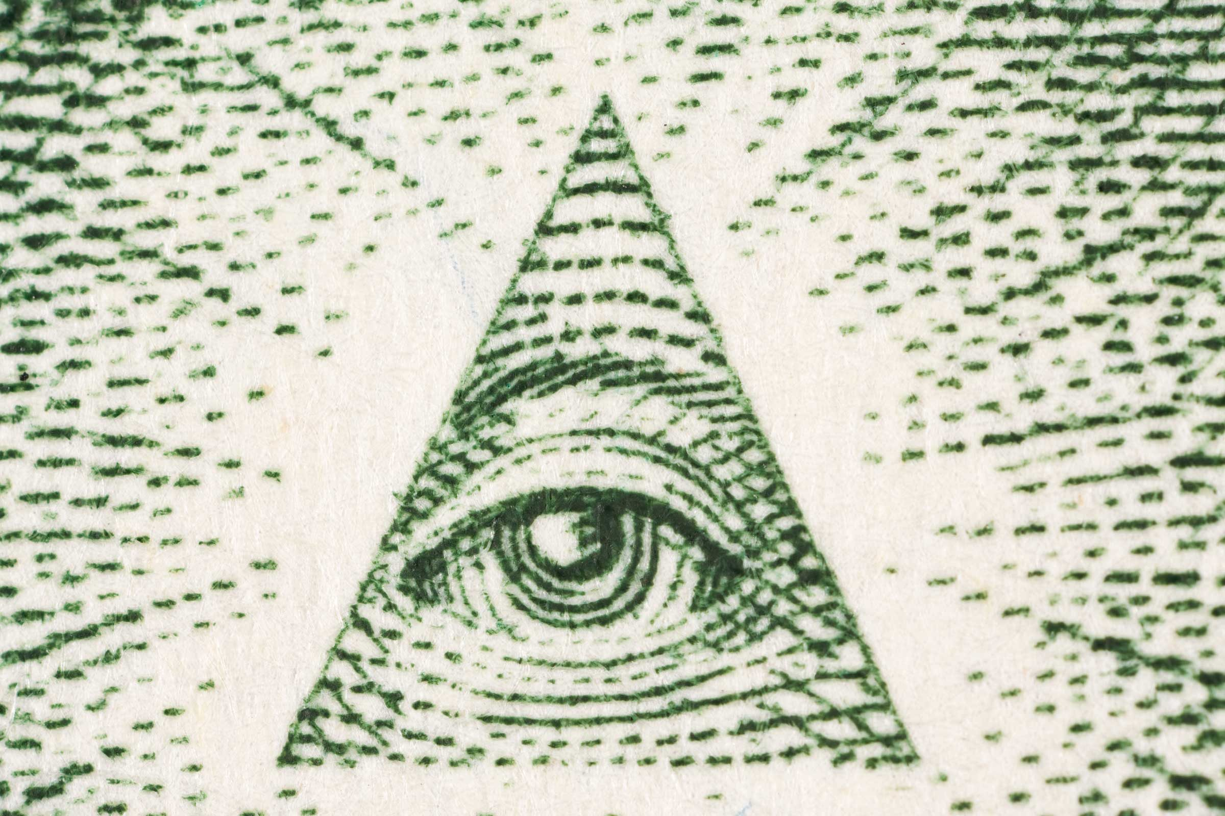 Dollar bill symbols what they mean readers digest eye above the pyramid biocorpaavc Images