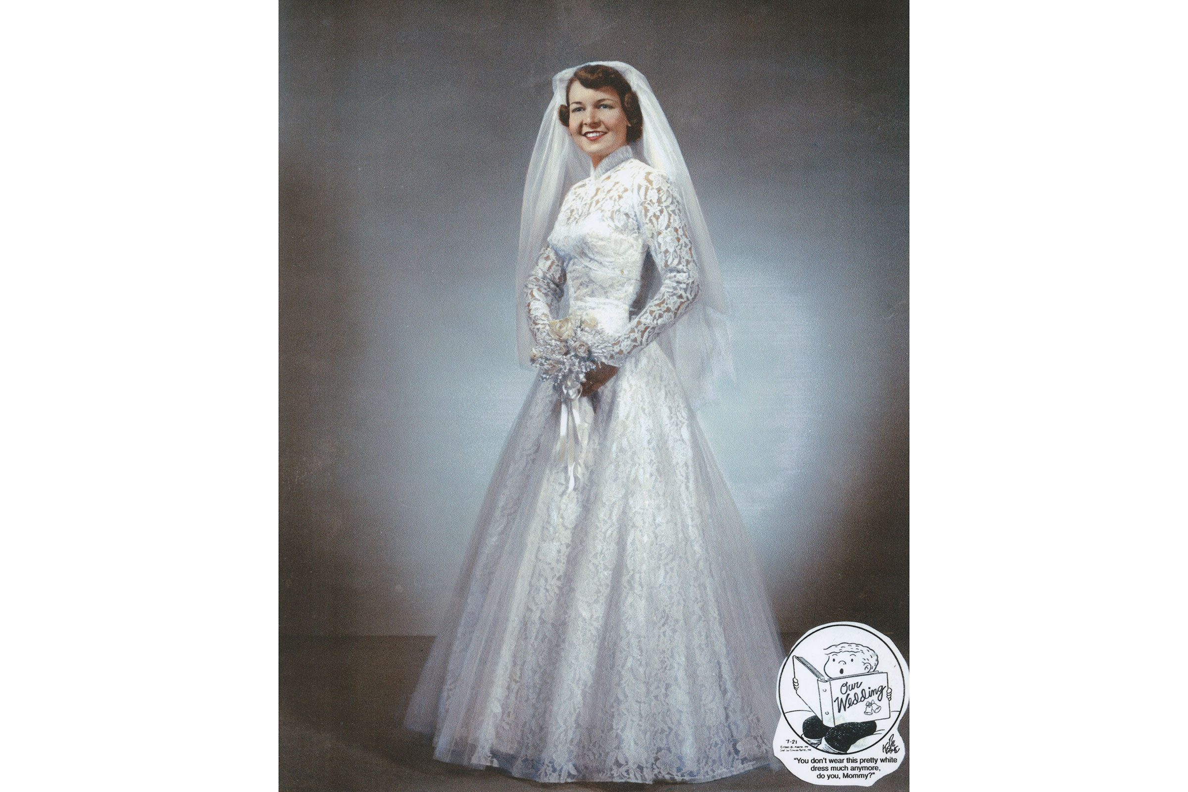 Wedding dress photos readers digest 1954 ombrellifo Image collections