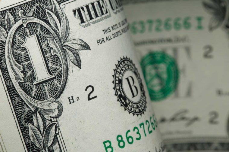symbols on the dollar bill