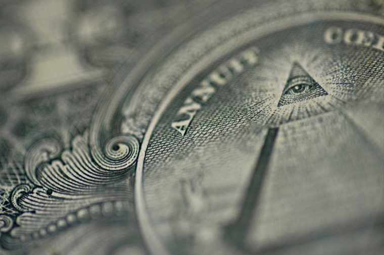 why is there a pyramid on the dollar bill