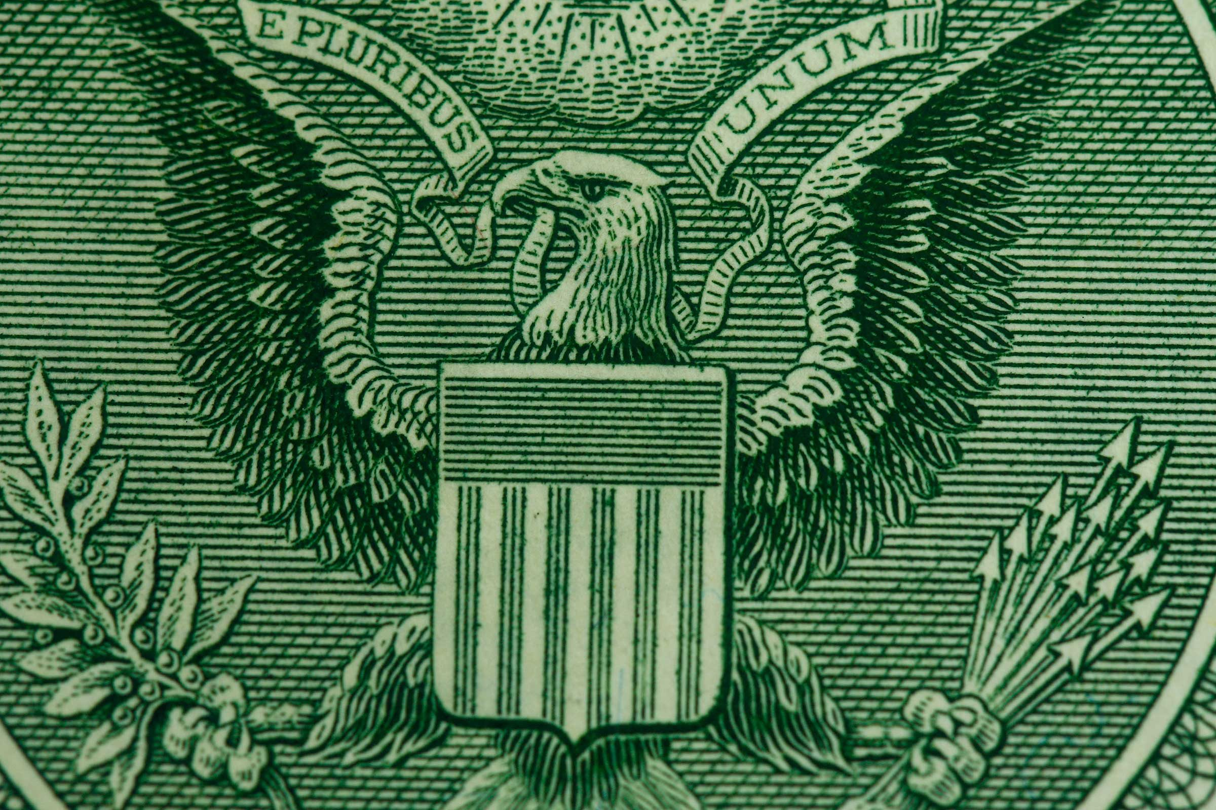 Dollar bill symbols what they mean readers digest the number 13 biocorpaavc Images