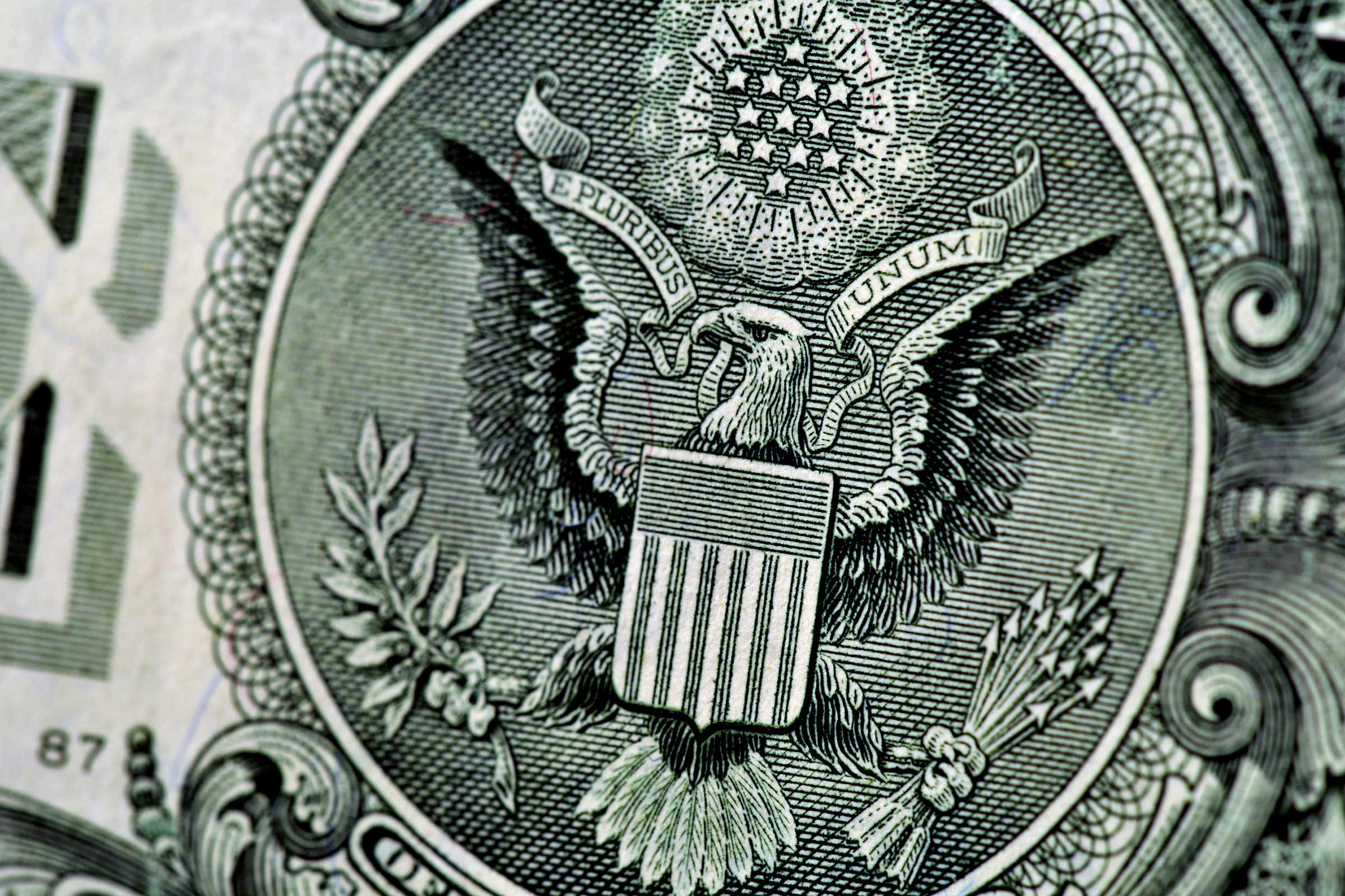 Dollar bill symbols what they mean readers digest stars above eagle biocorpaavc Images