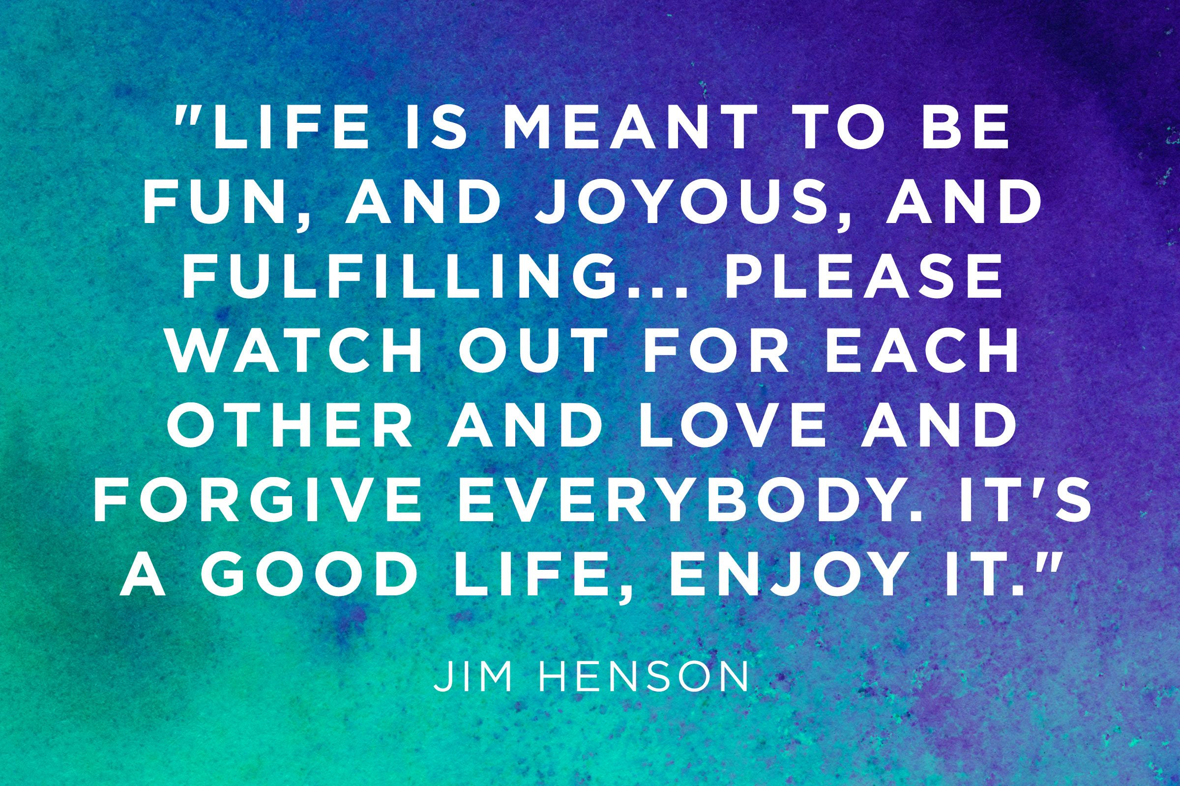 Beautiful Jim Henson: The Meaning Of Life Is Compassion