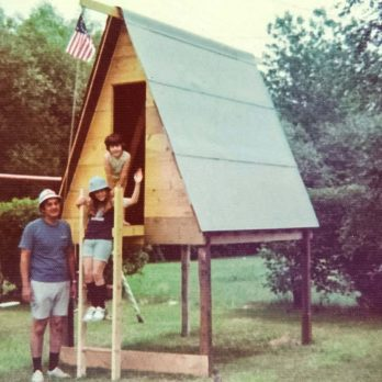 This Dad Surprised His Kids By Building the Ultimate Playhouse, and It Is AMAZING