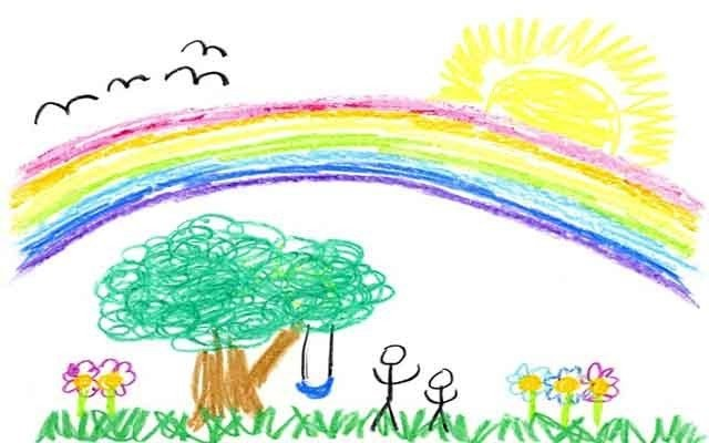 Country Magazine art drawing kids