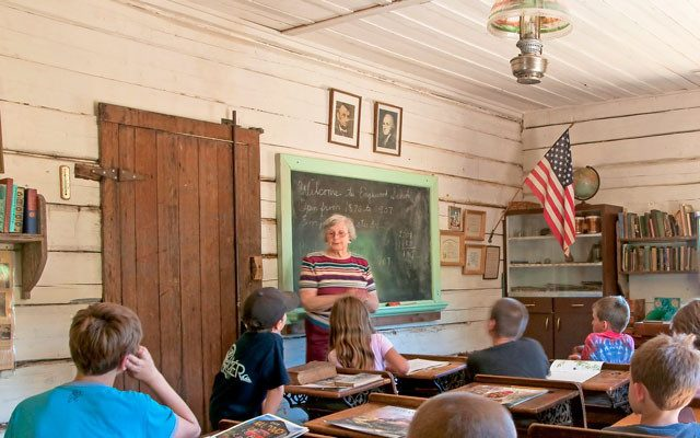 Country Magazine schoolhouse retired teacher 2