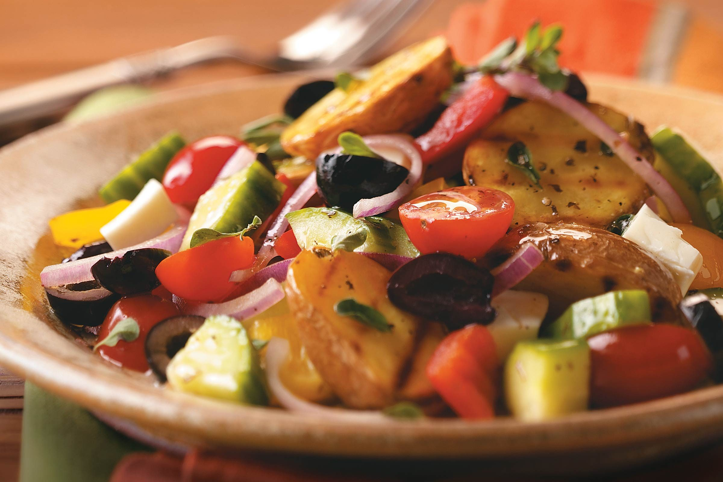 Grilled-Greek-Potato-Salad