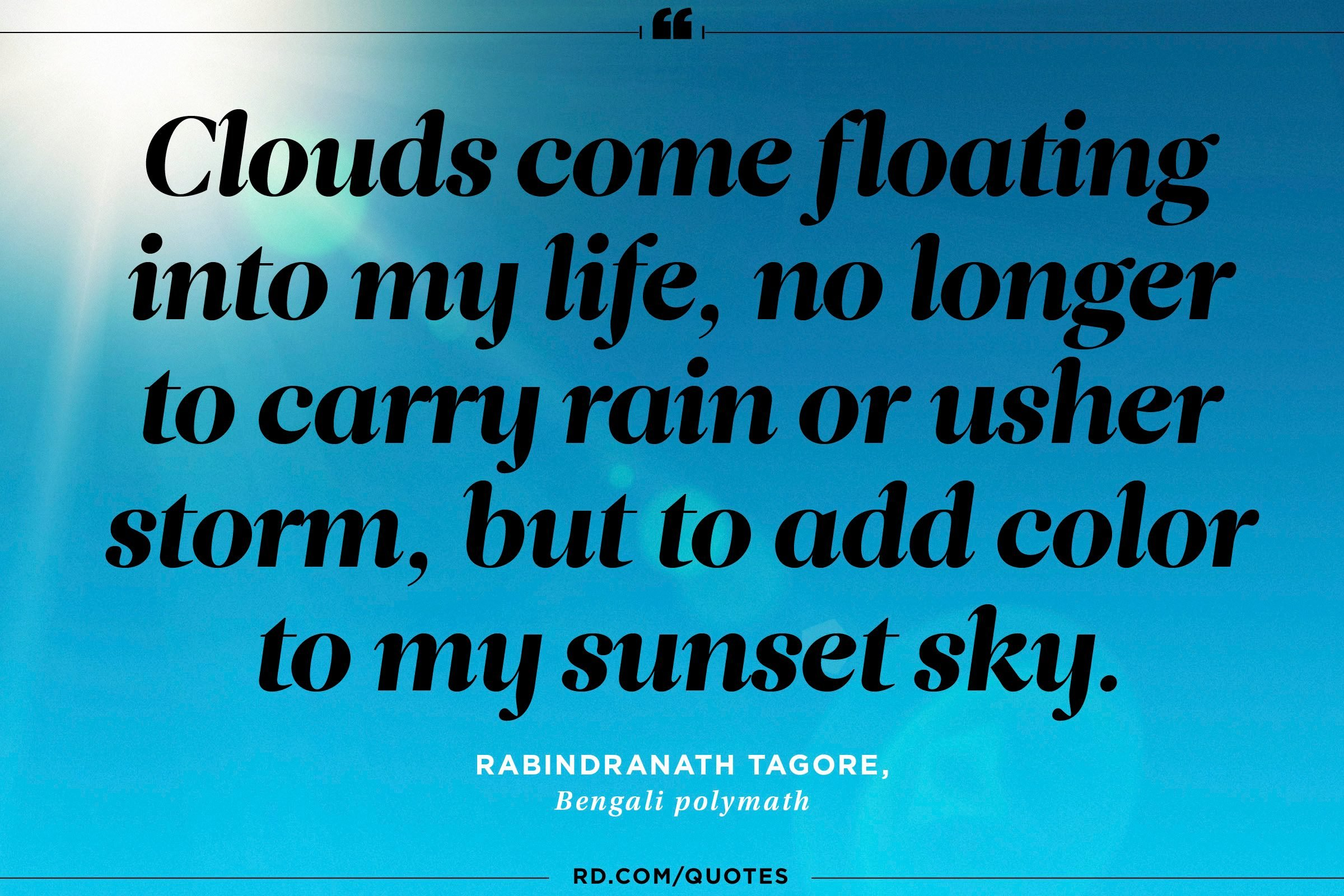 Quotes About Sunshine To Cheer You Up Readers Digest