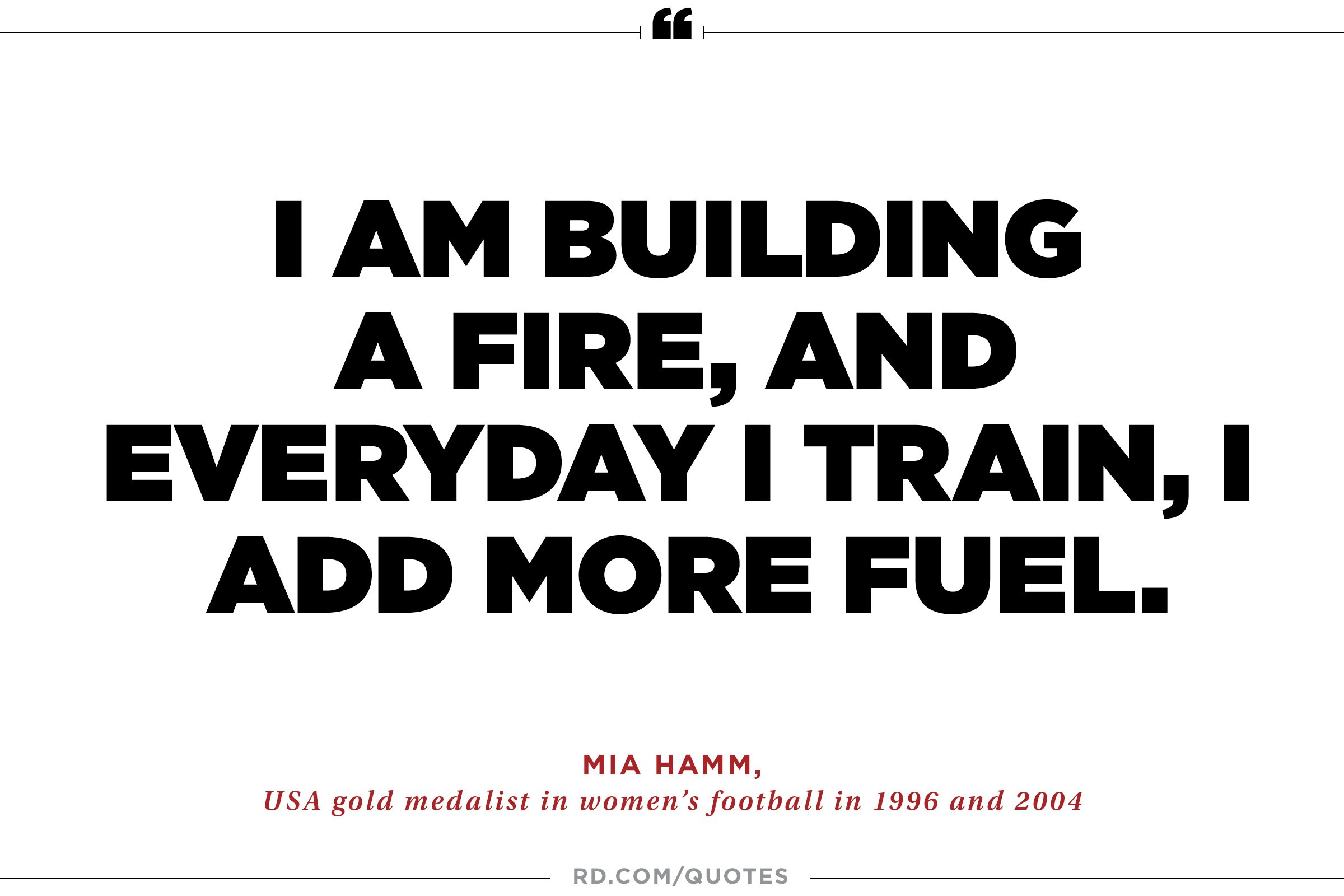 21 Quotes Unique 21 Motivating Quotes From Olympic Athletes  Reader's Digest