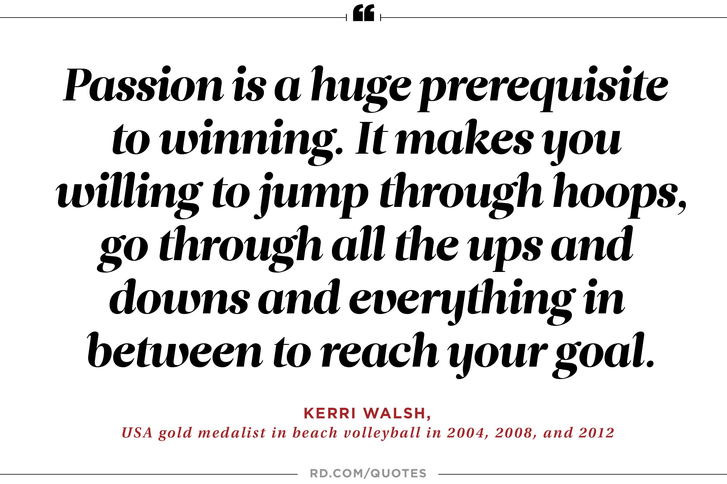 Devotion Quotes Captivating 21 Motivating Quotes From Olympic Athletes  Reader's Digest