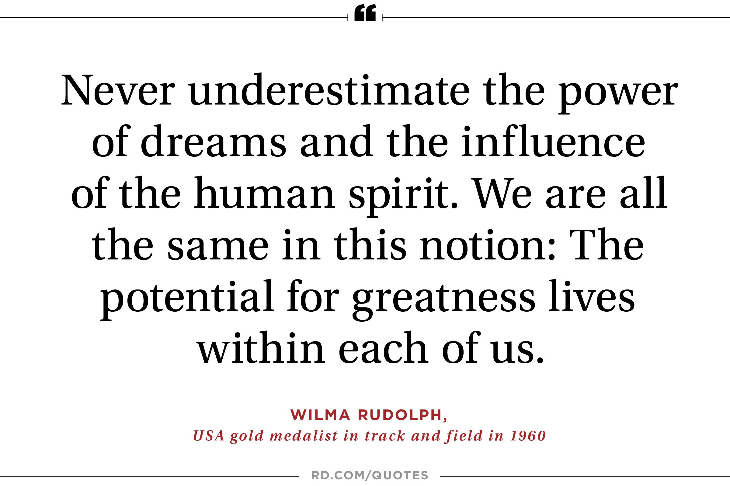Quotes Within Quotes 21 Motivating Quotes From Olympic Athletes  Reader's Digest