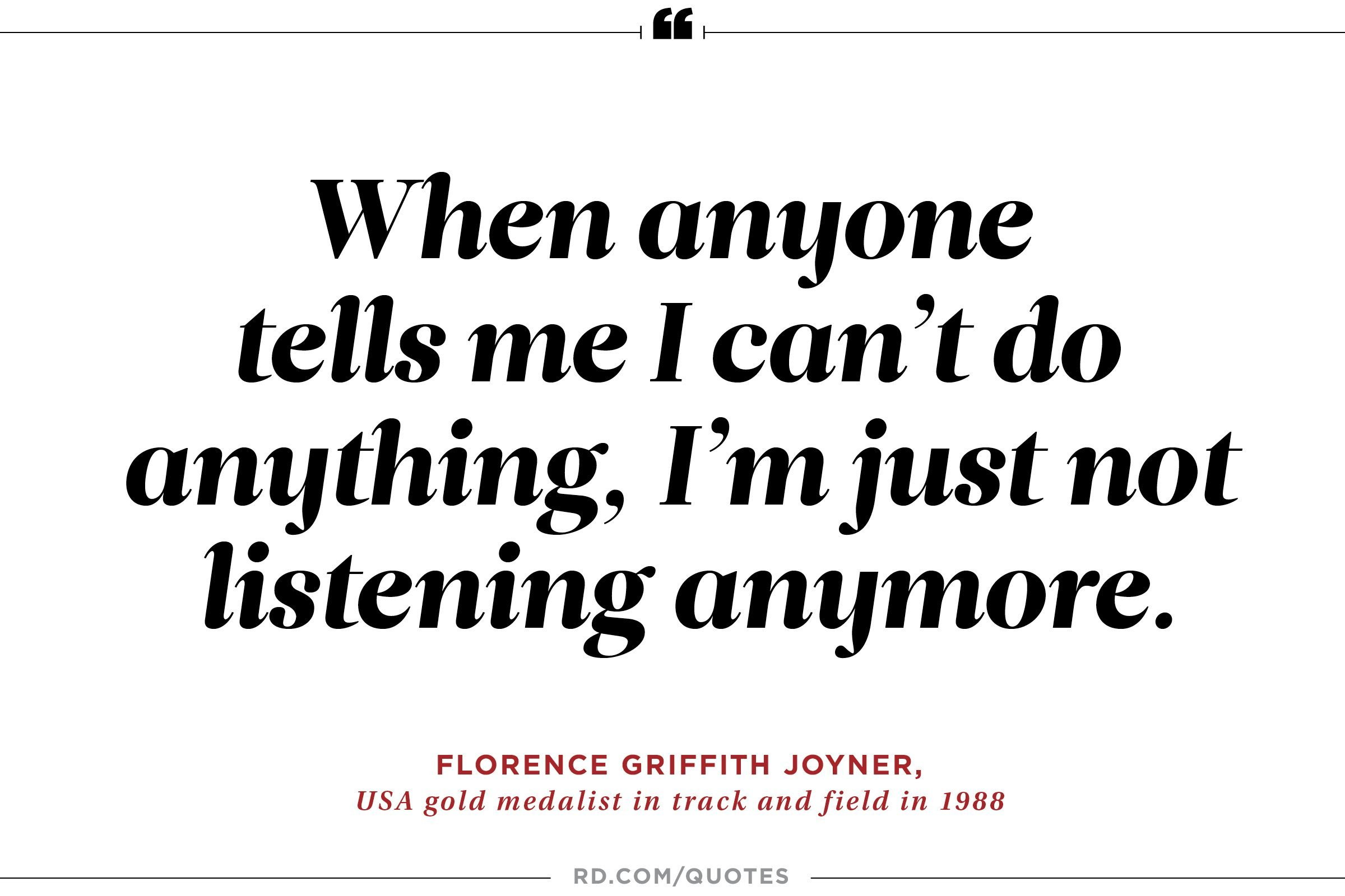 21 Motivating Quotes From Olympic Athletes Readers Digest