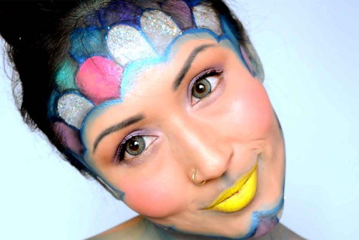 11-halloween-makeup-rainbow-fish