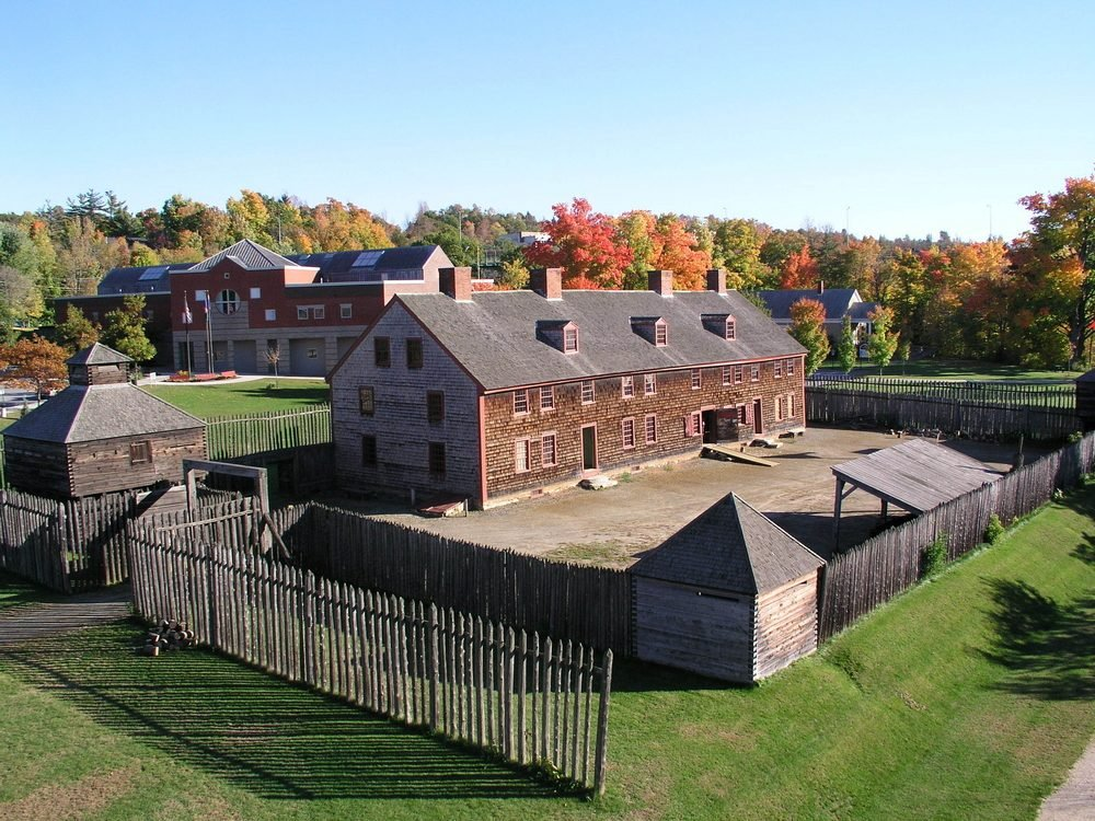 Old Fort Western Augusta Maine