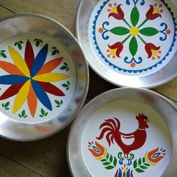Dutch Pie Tin Patterns