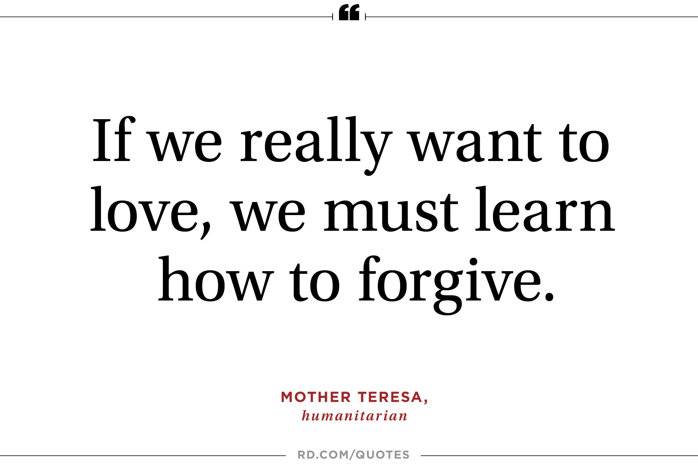Forgiveness Quotes That Will Help You Finally Let Go Readers Digest