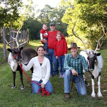 For This Family That Raises Reindeers, It's Basically Christmas Every Day