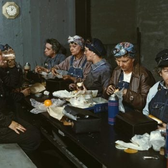 A Rare, Full-Color Look at the Women Who Kept America Running During WWII
