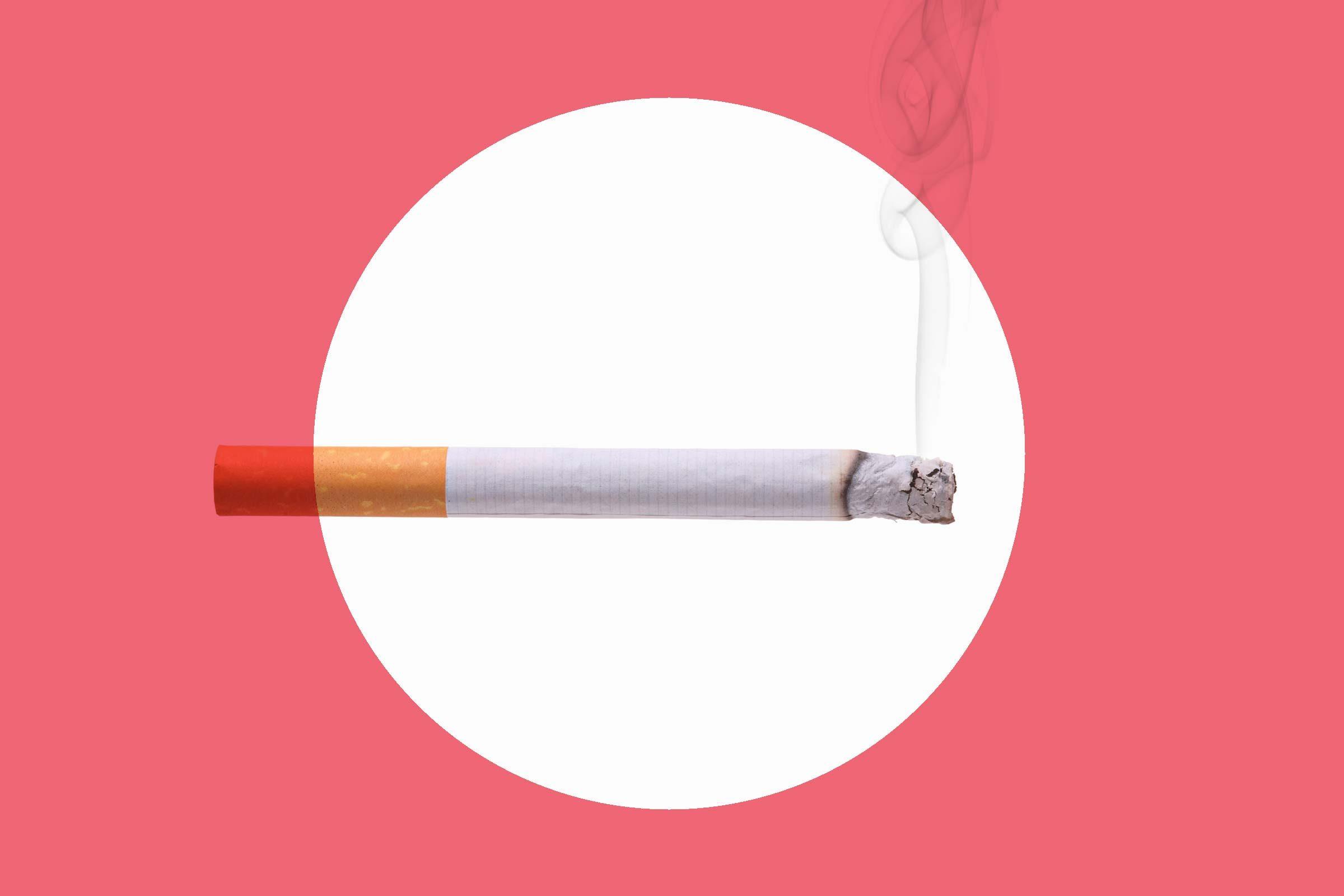 Lay off the smoking