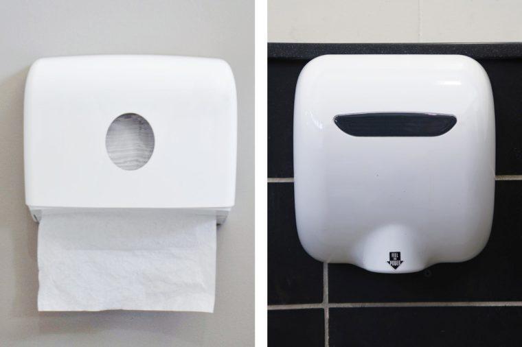 hand towel dryer