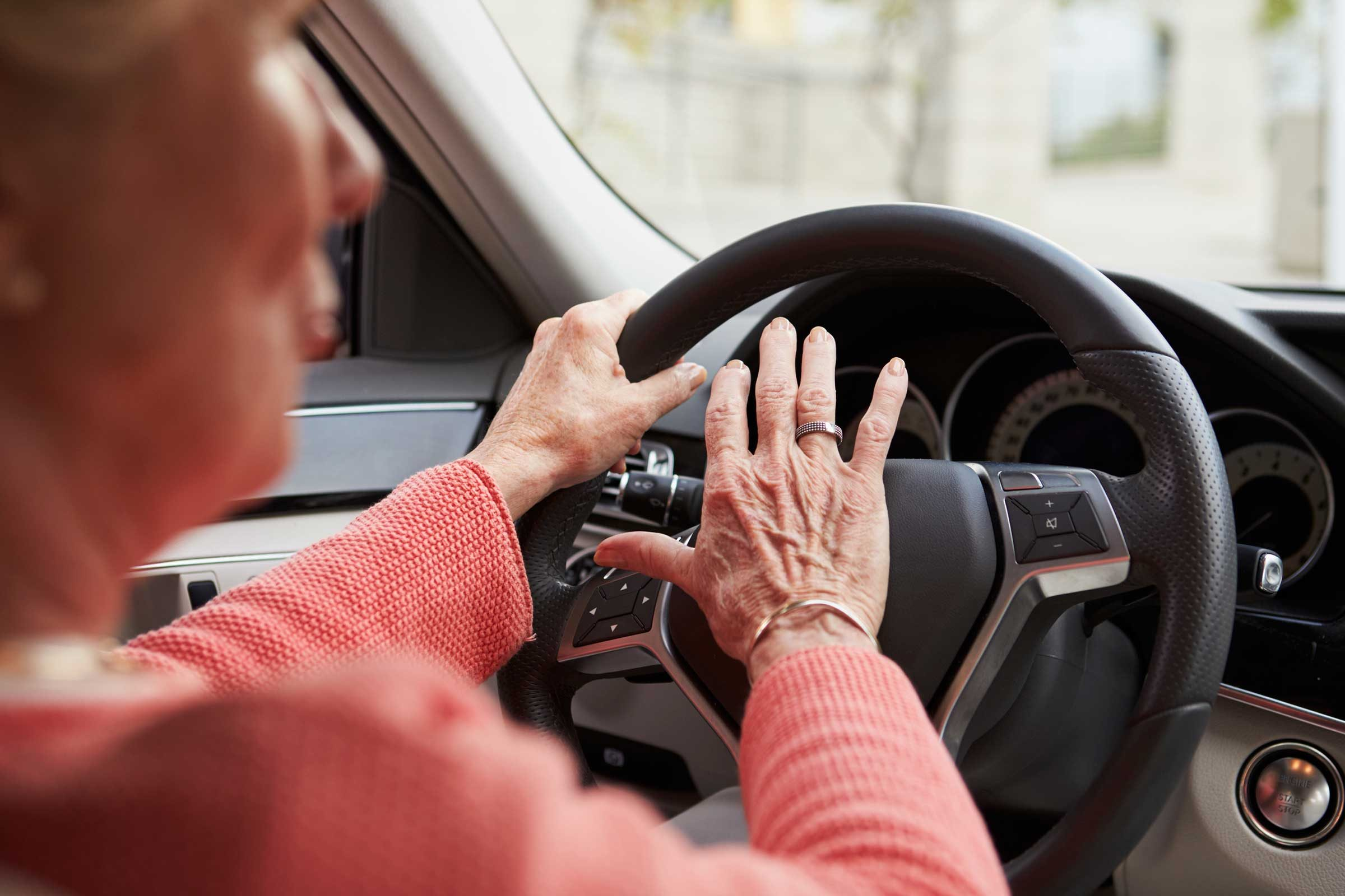 Elderly Drivers When Should They Stop Driving Readers Digest - Car sign meaningsfunny alternative road signs car keys