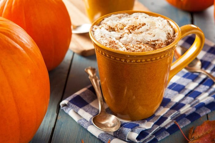 pumpkin spice coffee drink