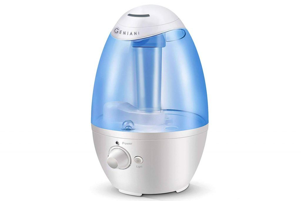 3L Ultrasonic Cool Mist Humidifier - Best Air Humidifiers for Bedroom/Living Room/Baby with Night Light - Whole House Solution - Large 3L Water Tank - Auto Shut Off and Filter-Free - 2 YEAR WARRANTY