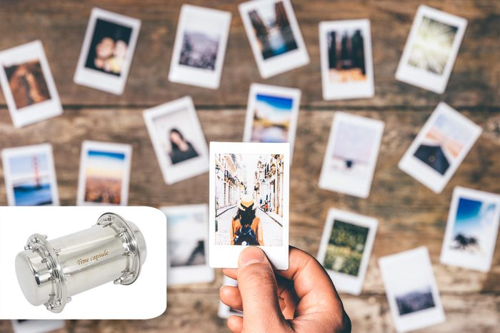 instant photo printouts. amazon time capsule.