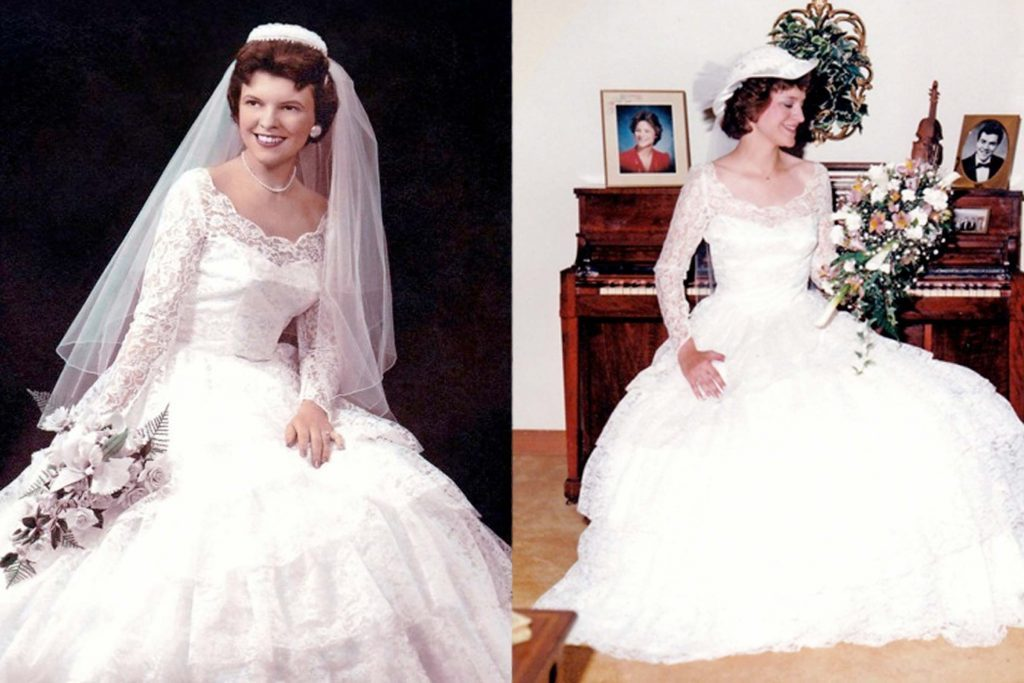 My mother in law made me the perfect wedding dress for Mother in law wedding dresses
