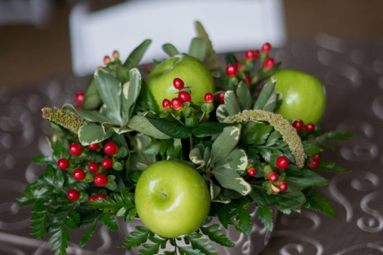 apple centerpiece