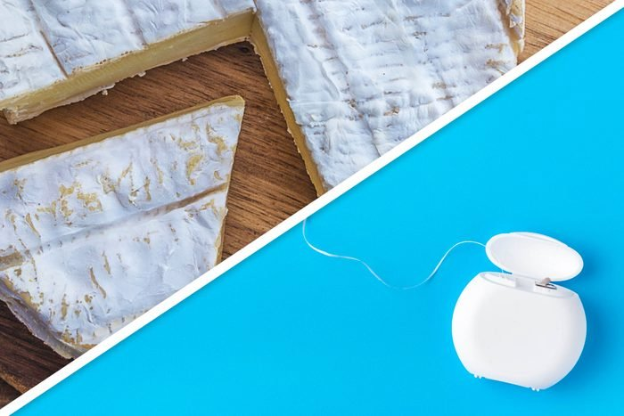 soft cheese and floss