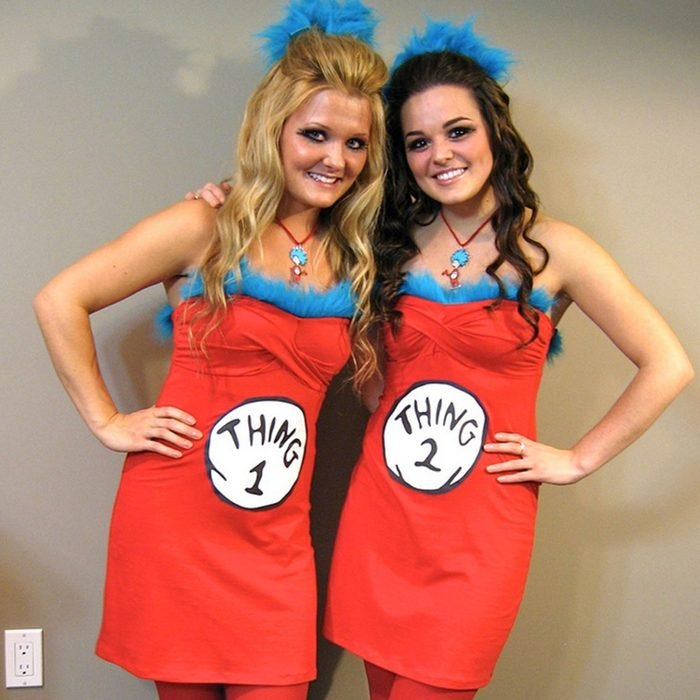 thing 1 and thing 2 diy costume