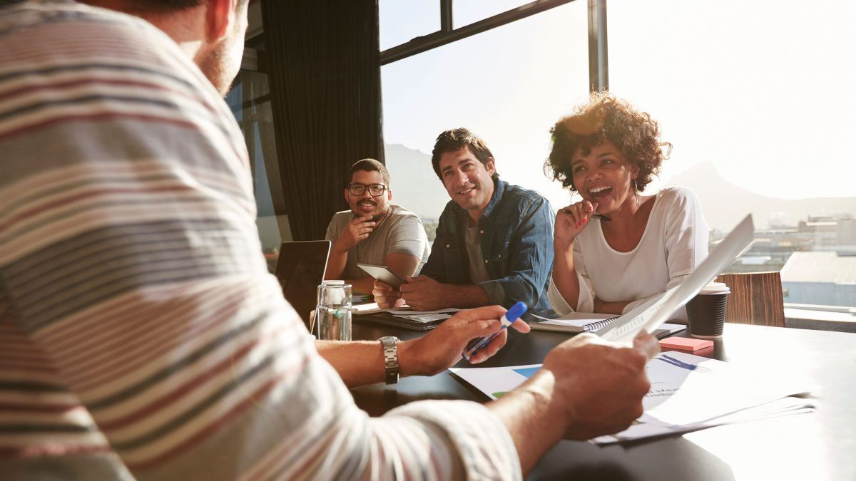 how do leaders build trust with employees