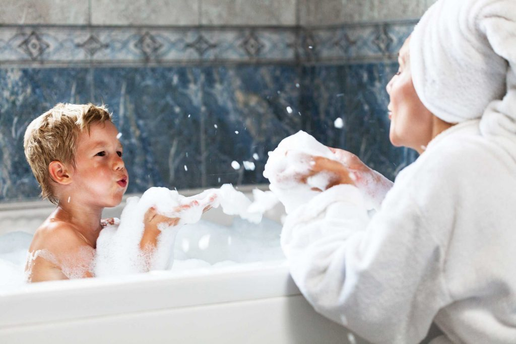 You Re Probably Bathing Your Kids Too Often Reader S Digest
