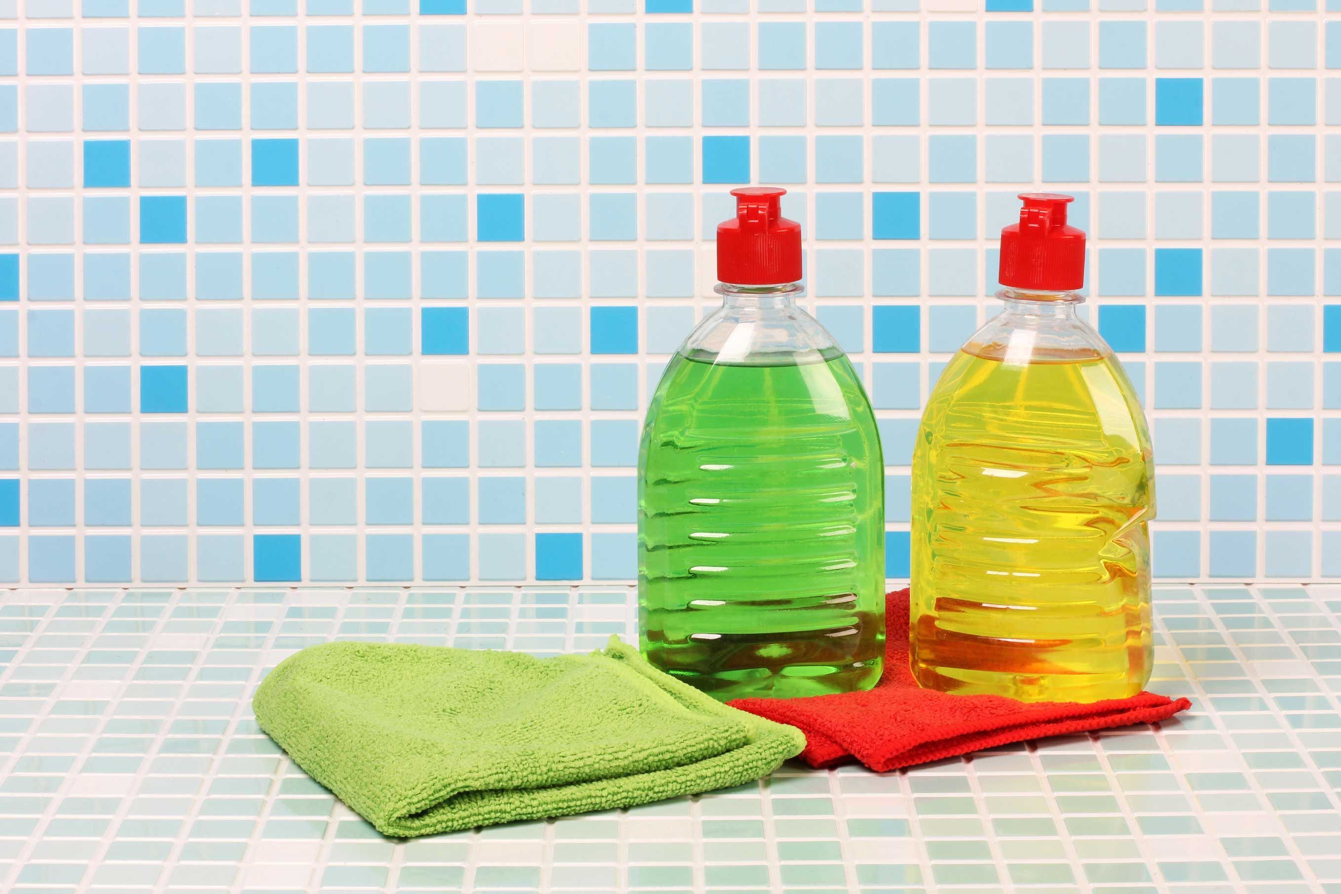 Start with dish soap