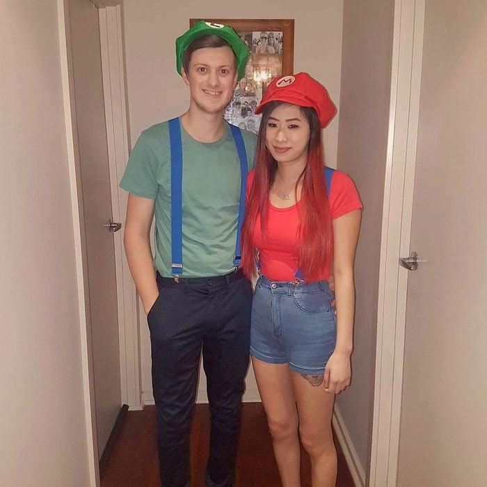 Mario & Luigi Halloween Costume