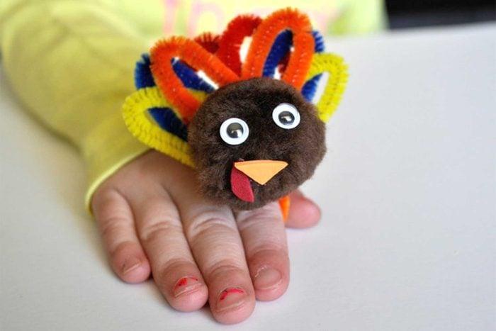 thanksgiving turkey ring craft for kids