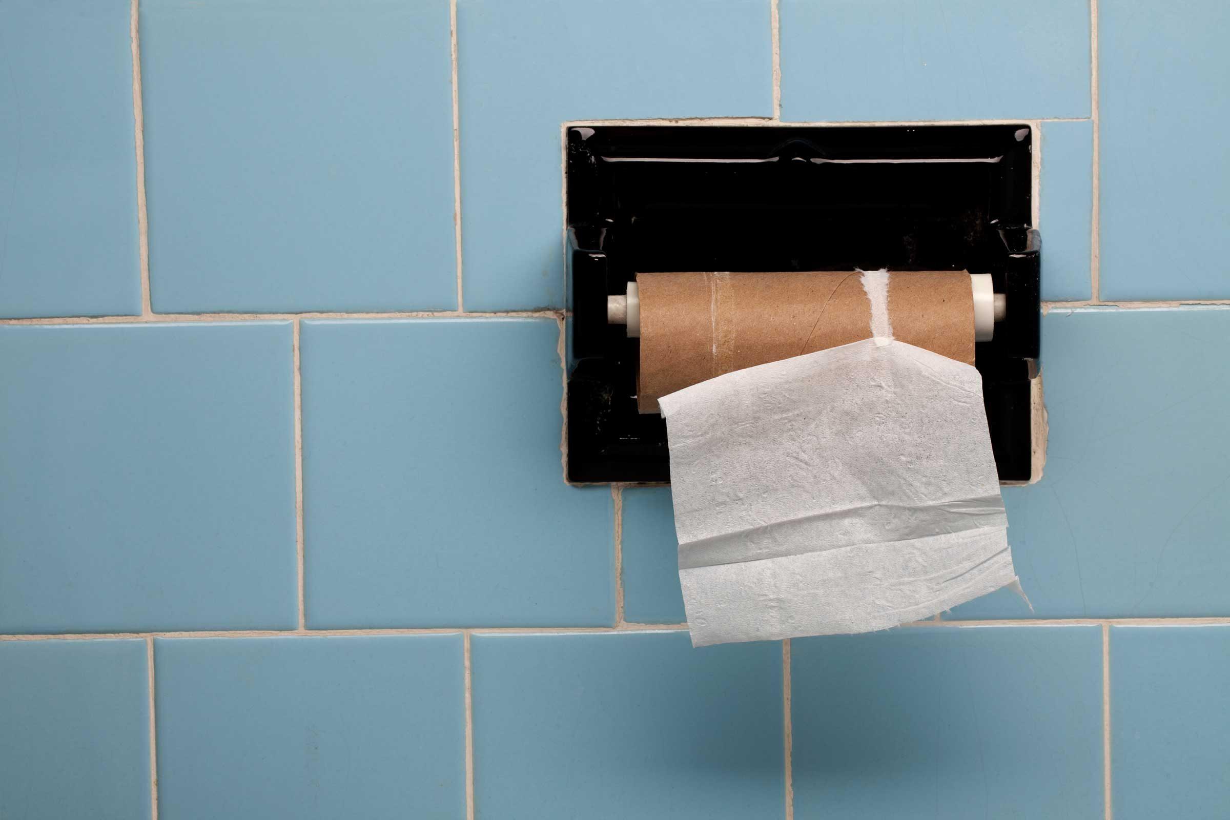 Black Toilet Bowl